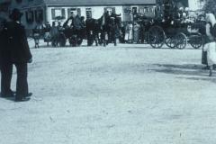 Erntedankfest 1933 vor Ulmer Straße 50