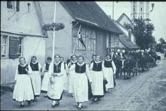 Erntedankfest 1934 Ulmer Straße