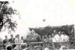Gartenfest Liederkranz (ca.1949, Ort heute Industrieweg 1)