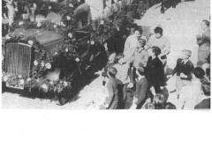 Landwirtschaftliches Fest 1953 (vor Gasthaus Glocke)