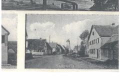 Postkarte u.a. Haus Dorfplatz 5 (ca. )