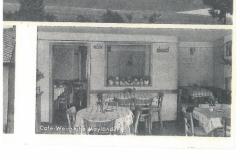 Postkarte (u.a. Cafe Mäyländer, Ulmer Straße 30, ca. )