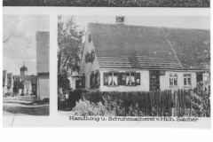 Postkarte (u.a. Lammgasse 8)