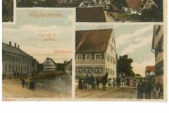 Postkarte (versandt 1907)