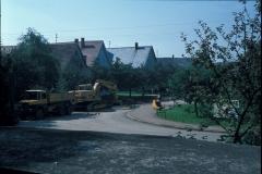 Ulmer Straße (Ortsmitte, Kanalsanierung 1977)