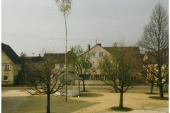 Dorfplatz 1985 (Neuanlage)