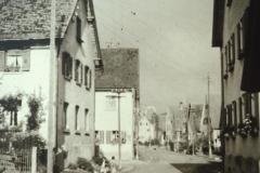 Geislinger Straße (ab Nr. 9 ortsauswärts 1950er Jahre)