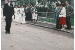 Ulmer Straße 26 (1956 bei Festumzug Liederkranz)