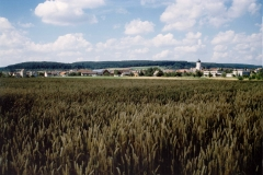 Dorfansicht von Süden 2002