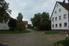 Schechstetten (Dorfplatz in Richtung Süden, 2004)