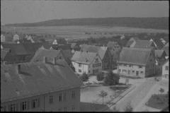 Dorfansicht vom Kirchturm (ca. 1950er )